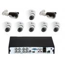 Комплекты на 8 камер