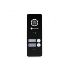 Панель видеодомофона Optimus DSH-1080/2 (Черный)