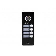 Панель видеодомофона Optimus DSH-1080/4 (Черный)